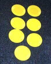 YAHTZEE Yellow Marker Replacement Pieces for Milton Bradley YAHTZEE 1998