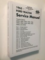 Ford Tractor Factory Shop Service Repair Manual 2000 3000 4000 5000 7000++ NEW