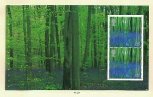 MGB35) Great Britain 2000 A Treasury of Trees Booklet Pane MUH