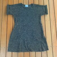 APOM A Part Of Me Designer ALine Dress Wool Blend Work Casual Size 8