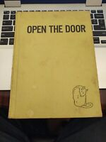RARE!! OPEN THE DOOR by Alf Evers 1st Edition / 1st Print 1960 - RARE!!