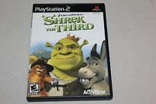 Shrek The Third Playstation 2
