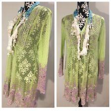 a38349de6219 Antica Sartoria Positano Vestito ricamato Con Perline Robe Dress Vestido