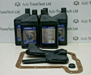 ford mondeo ghia automatic gearbox oil filter gasket genuine aisin fluid type iv