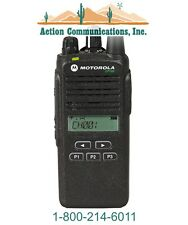 MOTOROLA CP185 - UHF 435-480 MHZ, 4 WATT, 16 CHANNEL TWO WAY PORTABLE RADIO