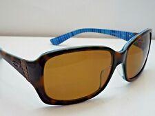 Authentic Oakley OO2012-10 Discreet Tortoise Blue Bronze Polar Sunglasses $230
