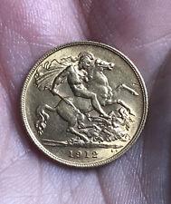 More details for george v gold half sovereign - 1912