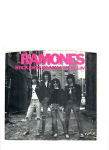 PUNK/ROCK N ROLL-RAMONES-ROCKAWAY BEACH-PROMO-STEREO/MONO-SIRE 1008 W/ PIC