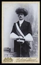 1896-97 German Fuchsmajor Fuxmajor Fencing Uniform Fox Hat, Epee, Mittweida