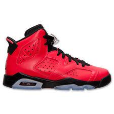 2014 Nike Air Jordan VI 6 Retro BG GS SZ 4Y Infrared 23 Black OG Red 384665-623