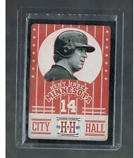 KENT HRBEK #CH14 TWINS City Hall Black 2013 Panini Hometown Heroes