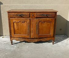 19TH C COUNTRY FRENCH SIDEBOARD / CABINET W BEAUTIFUL IRON HARDWARE u0026 CARVINGS & France French Country Antique Cabinets u0026 Cupboards | eBay