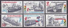 CZECHOSLOVAKIA 1989 **MNH SC#2736/41 Shipping Industry