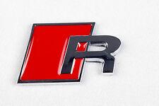 Insignia Trasero Rojo Audi R Logo Emblema A3 A4 S3 A6 A8 S4 S8 RS3 RS4 S3 S4 Line-AR1