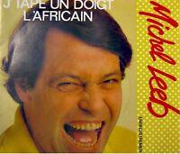 MICHEL LEEB j'tape un doigt/l'africain SP 1984 RARE VG+