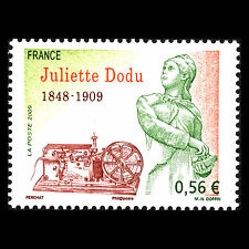 "France 2009 - Death of Juliette Dodu ""1848-1909"" - Sc 3726 MNH"