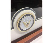 U.S. Flag Display Memorial Case w/ United States Navy Medallion