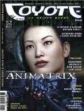 Revue COYOTE MAG numéro 6 MAGAZINE MANGA Yoko Player Okaz Avril 2003 Epuisé Rare