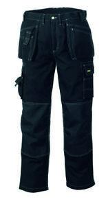 teXXor® Multifunktion Canvas Bundhose PANAMA Cordura Arbeitshose schwarz 4311