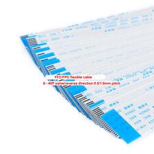 10pcs 6-40cm 8-40P FFC/FPC flexible cable LCD connection same/reverse direction
