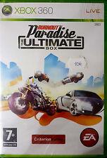 BURNOUT PARADISE THE ULTIMATE BOX Microsoft Xbox 360 2009 -PAL-