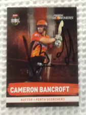 Perth Scorchers 2016 Season Cricket Trading Cards