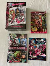 Monster High Book Lot Ghouls Rule Box Set Freaky Fusion Howlers 6 Books