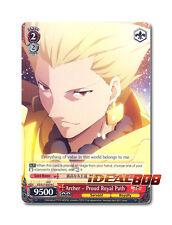 Weiss Schwarz Fate/Zero x 4 Archer - Proud Royal Path [FZ/S17-E079 C] English