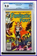 Fantastic Four #281 CGC Graded 9.0 Marvel 1985 Newsstand Edition Comic Book.