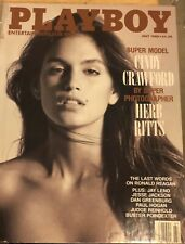 Playboy Magazine (July 1988) Cindy Crawford