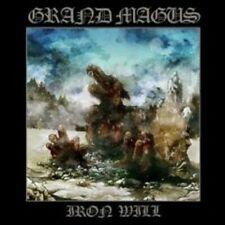 """GRAND MAGUS """"IRON WILL"""" CD NEUWARE"""