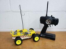 Team Losi Mini T 1/18 Rc Car All Original Transmitter Yellow