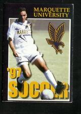 Marquette Golden Eagles--1997 Soccer Pocket Schedule--Opus
