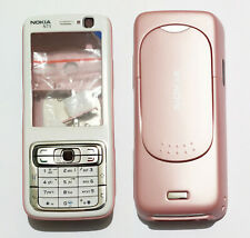 white cell Housing Cover Case Fascia skin Faceplate for Nokia N73