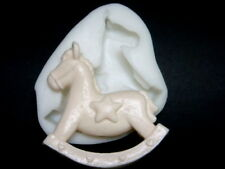 Cute Horse, Silicone Mold Chocolate Polymer Clay Jewelry Soap Melting Wax Resin