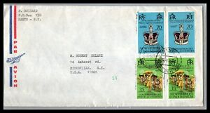 GP GOLDPATH: NEW HEBRIDES COVER 1977 AIR MAIL _CV674_P14