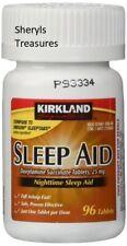 Kirkland Signature Over the Counter Sleep Aid 25 Mg X 96 Tabs Exp 01/2022
