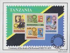 tanzanie Bloc 21 (complète edition) neuf avec gomme originale 1980 Exposition ph