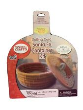 PEPPERELL CRAFTS Coiling Cord Bowl Santa Fe Container Kit, 8+ Intermediate Skill