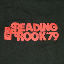 VTG READING ROCK '79 CONCERT T-SHIRT S THE RAMONES MOTORHEAD THE CURE TOUR 70S