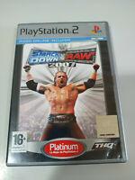 Wwe Smackdown! Vs Raw 2007 Ausgabe Platin PLAYSTATION 2 Set Ps2