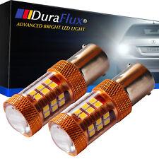 DuraFlux 1156 1141 LED Backup Light OSRAM 2000LM 140W Super White Reverse Bulbs
