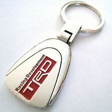 TRD KEY CHAIN RING FOB TOTOTA CAMRY TACOMA 4RUNNER TUNDRA SCION TC FR-S CHROME