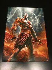 God of War 3 III 17'' x 24'' Poster Exclusive Gamestop Pre-Order Bonus item