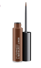 New in Box MAC Liquidlast Liner Eyeliner - COCO BAR - deep chocolate brown