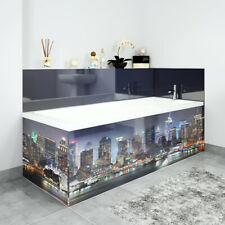 Bath Panels Printed on Acrylic - New York City Skyline