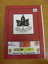 28/01/2017 Littleton v Uttoxeter Town  . Thanks for viewing this item, buy in co