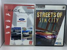 2 X Auto PC Games-Ford Racing 2001 & STREETS OF SIM CITY