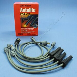 Autolite 86405 Spark Plug Wire Set for 65-84 Chevy Toyota Renault I4