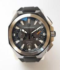 Girard Perregaux Chrono Hawk Automatic Rubber Stainless Steel Watch ref:49970